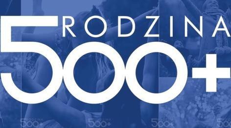 Program Rodzina 500 Plus – fot. mat. pras.