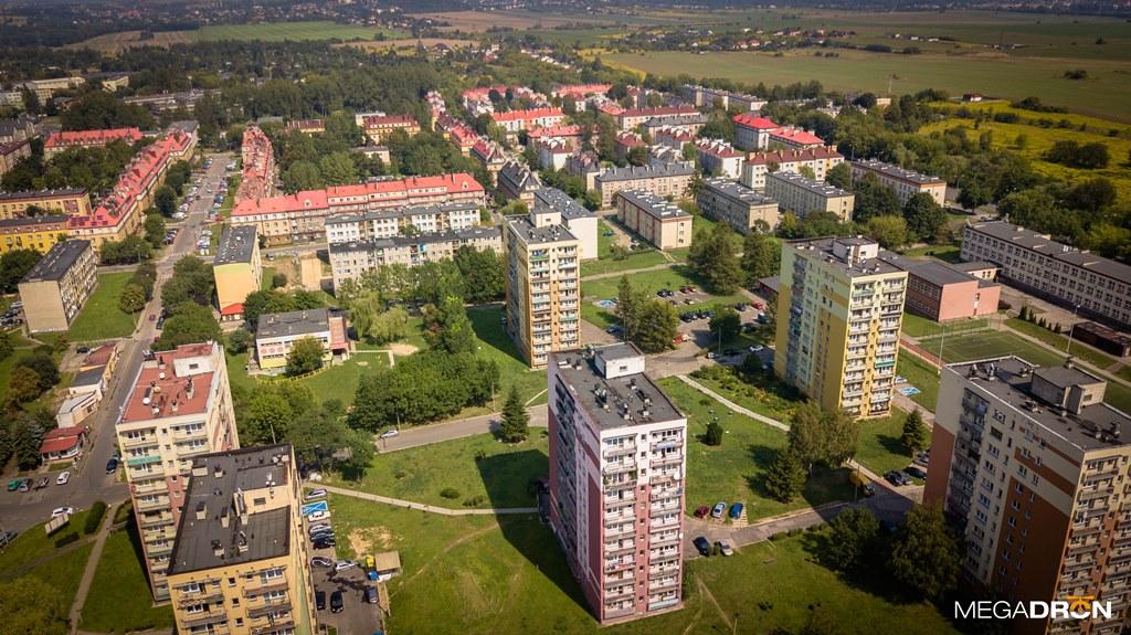 Czeladź z lotu ptaka - fot. Maciej Łukasik/MEGADRON