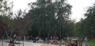 Strefa relaksu w Parku Sieleckim - fot. MC
