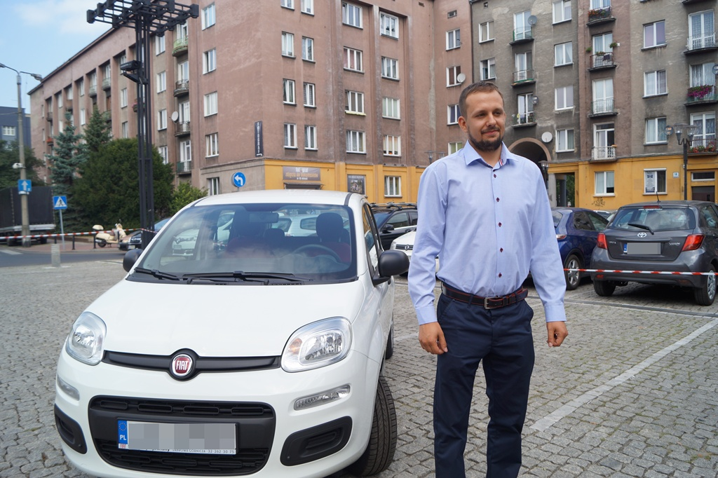 Zwycięzca loterii Samochód za PIT - fot. MC