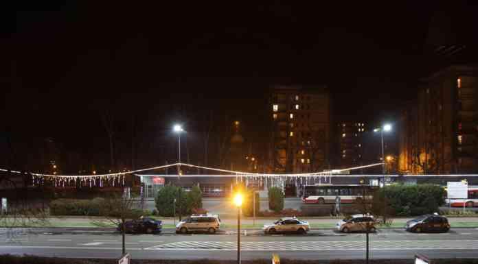 Oświetlenie w Sosnwocu - fot. UM Sosnowiec