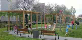 Modernizacja placu zabaw - fot. ARM Projektowanie Architektoniczne