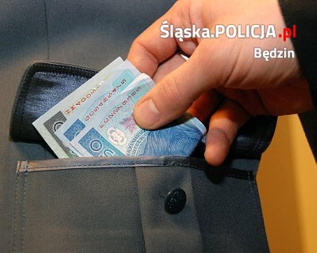 Korupcja - fot. KPP Będzin