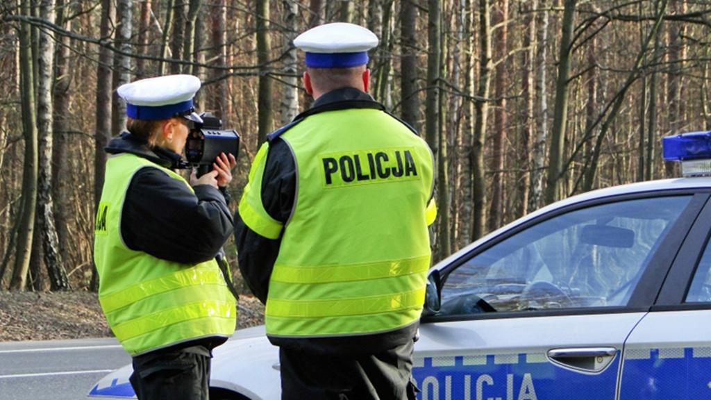 Kontrola drogowa - fot. Policja