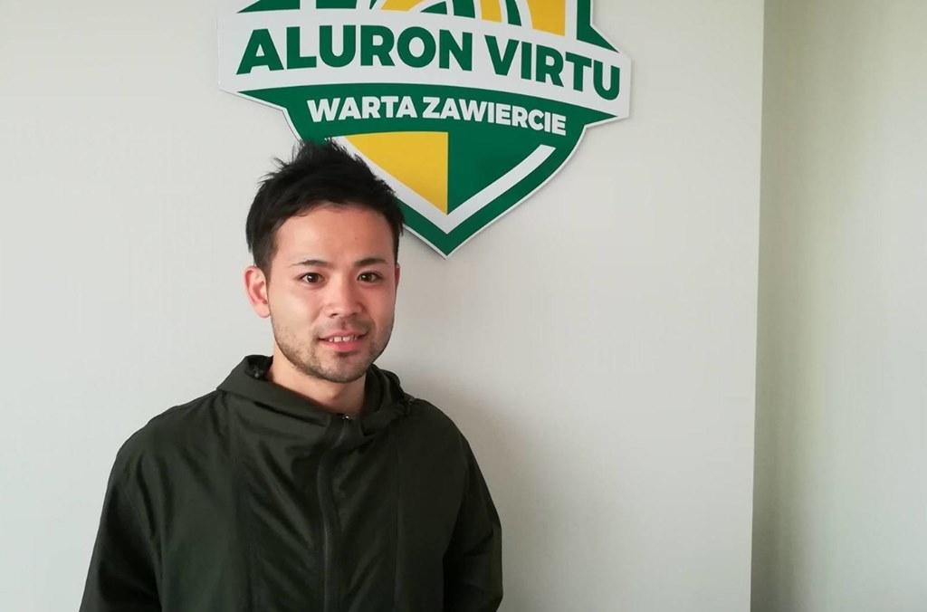 Taichiro Koga - fot. Krzysztof Jurak/Aluron Virtu Warta Zawiercie