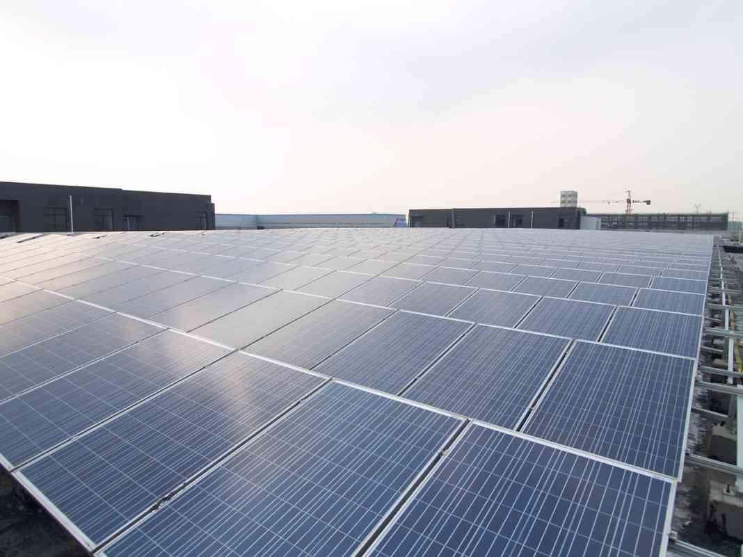 Elektrownia słoneczna - fot. Pixabay