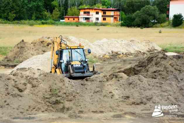 W Będzinie powstaje plaża miejska - fot. UM Będzin