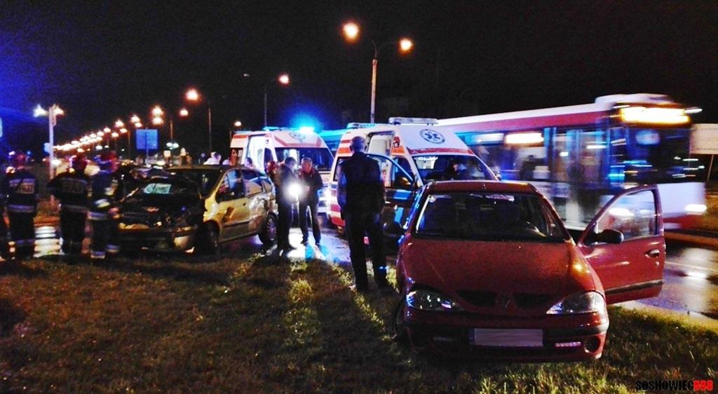 Wypadek w Sosnowcu - fot. Sebastian Marcinik/Sosnowiec 998