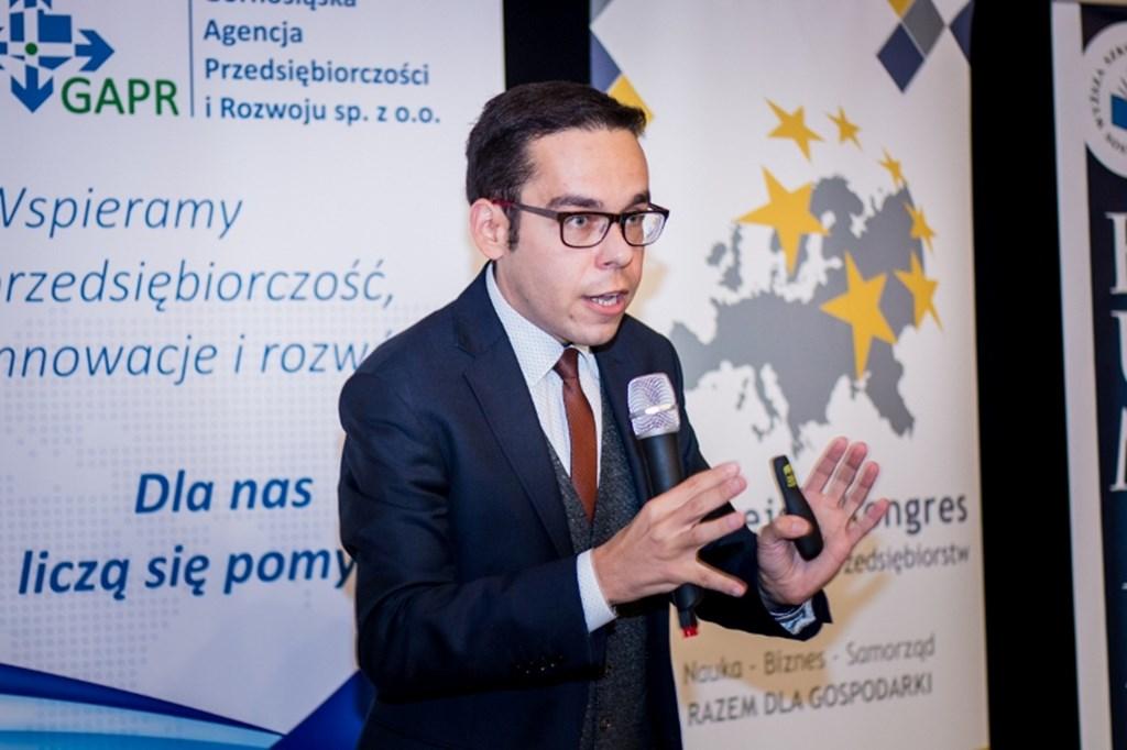 Kongres Praktyków Nauki i Biznesu w Sosnowcu – fot. Humanitas