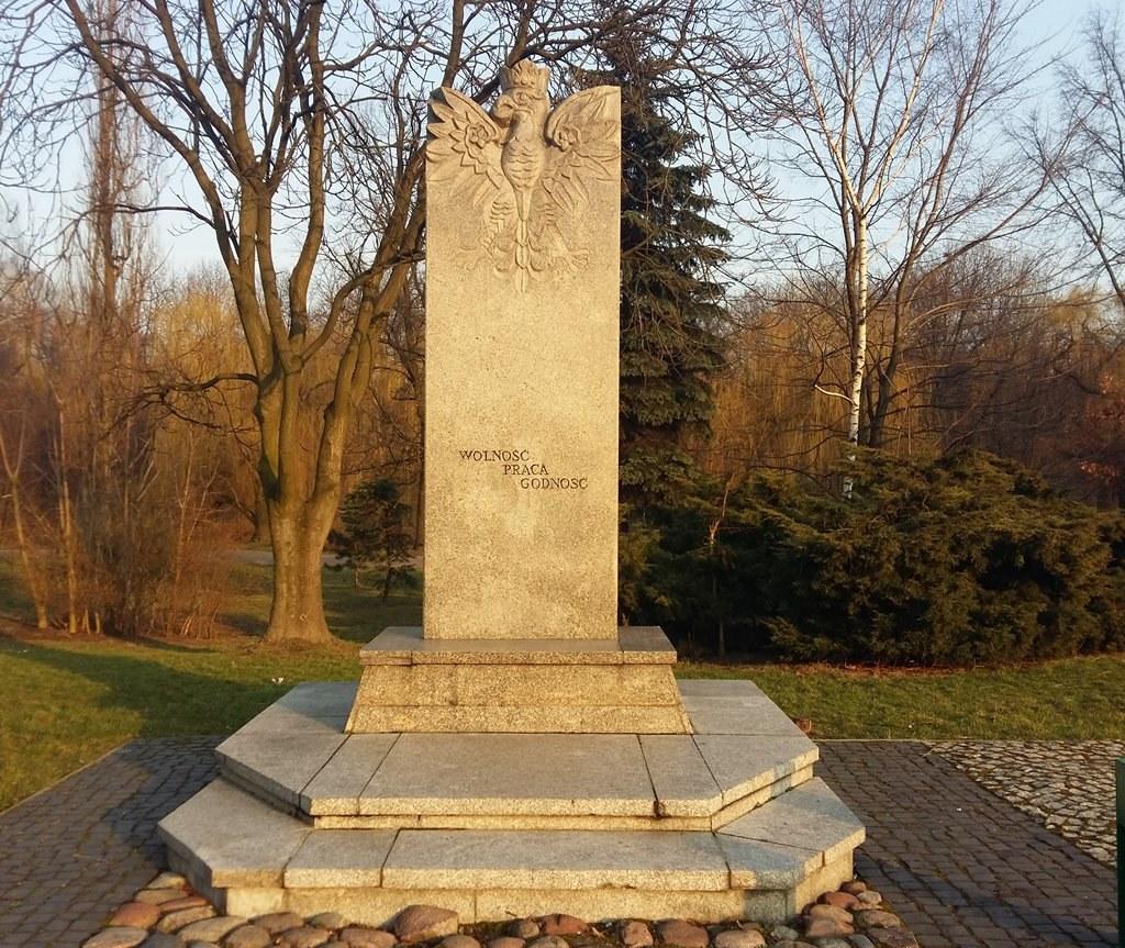 Pomnik Czynu Rewolucyjnego w Sosnowcu - fot. MC