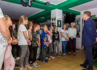 Dzieci z poszkodowanej przez nawałnicę gminy przyjechały do Sosnowca - fot. UM Sosnowiec