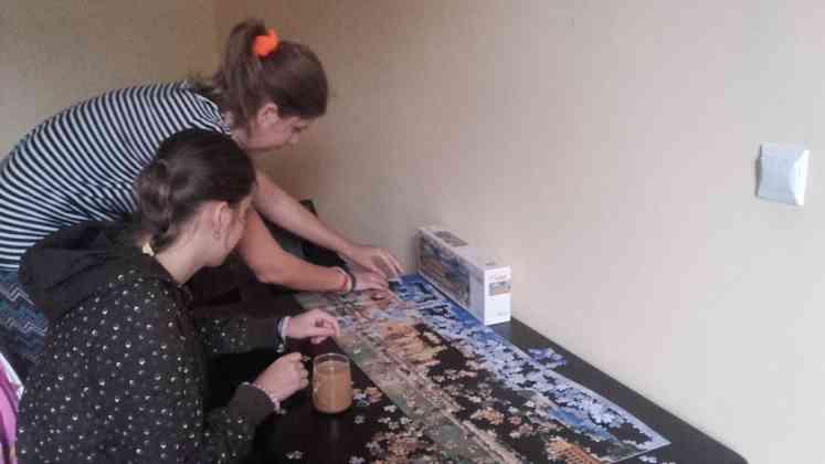 Justyna i Natalia podopieczne Fundacji IT- fot. AR