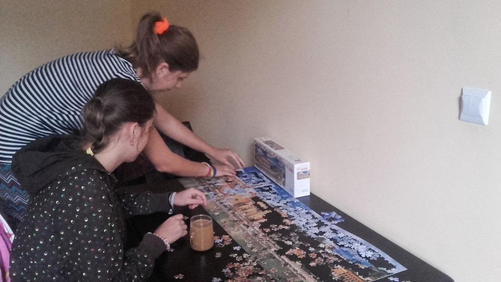 Justyna i Natalia- podopieczne Fundacji ITI- fot. AR