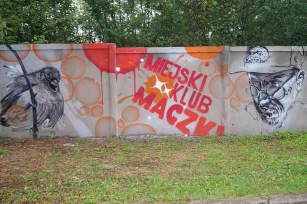 Nowy mural w Maczkach - fot. MC