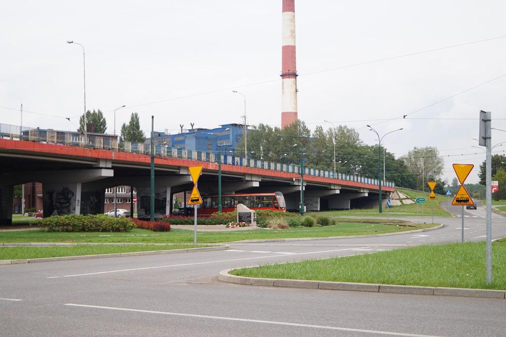 Powstanie rondo przy ul. Będzińskiej - fot. MC