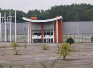 Rozbiórka Centrum Handlowego Sosnowiec - fot. MC