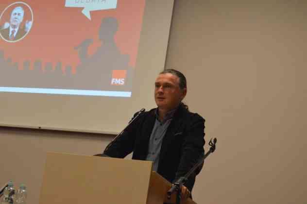 Debata o Edwardzie Gierku w Sosnowcu – fot. MZ