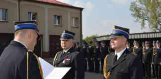 Komendant straży odszedł na emeryturę - fot. Facebook/@powiat.bedzinski