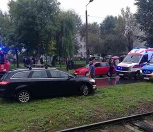 Śmiertelne potrącenie w Sosnowcu - fot. archiwum prywatne