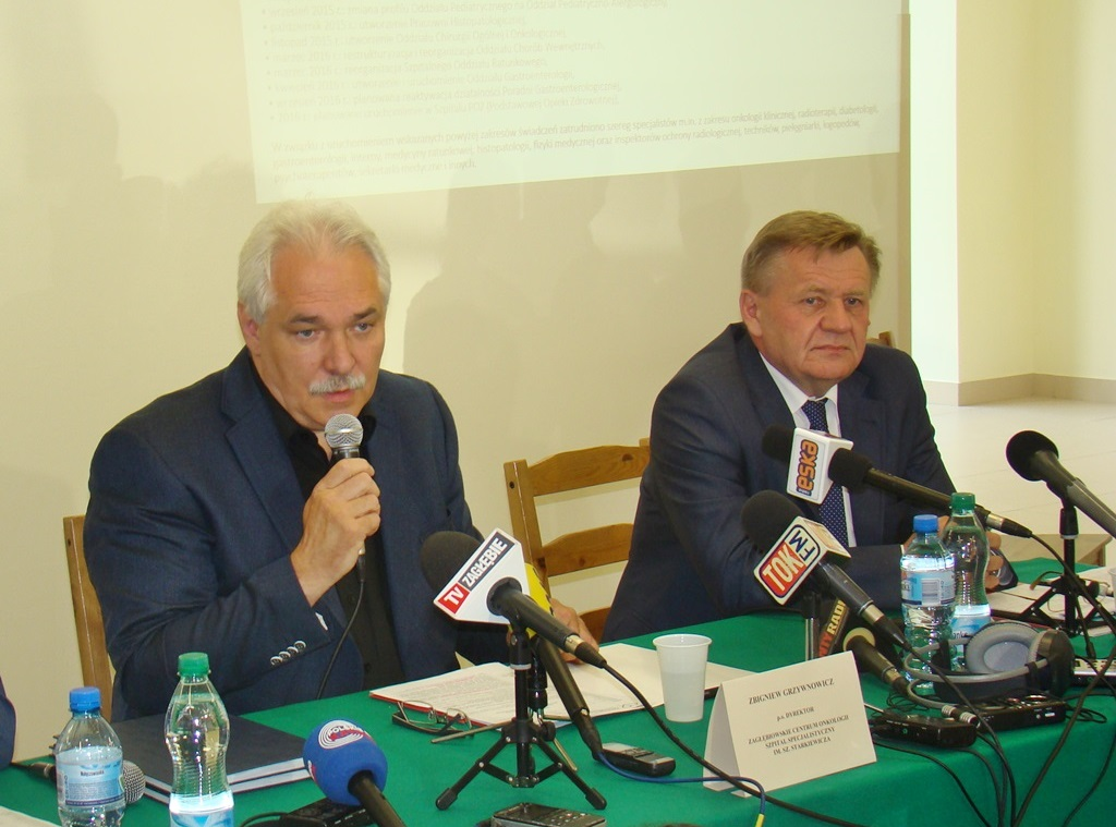 Zbigniew Grzywnowicz i Zbigniew Podraza - fot. AR
