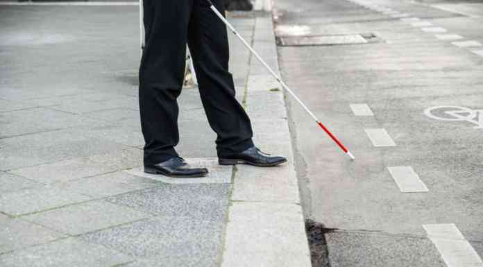 Niewidomy - fot. Fotolia