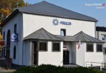 Nowy komisariat policji w Porębie - fot. KPP w Zawierciu