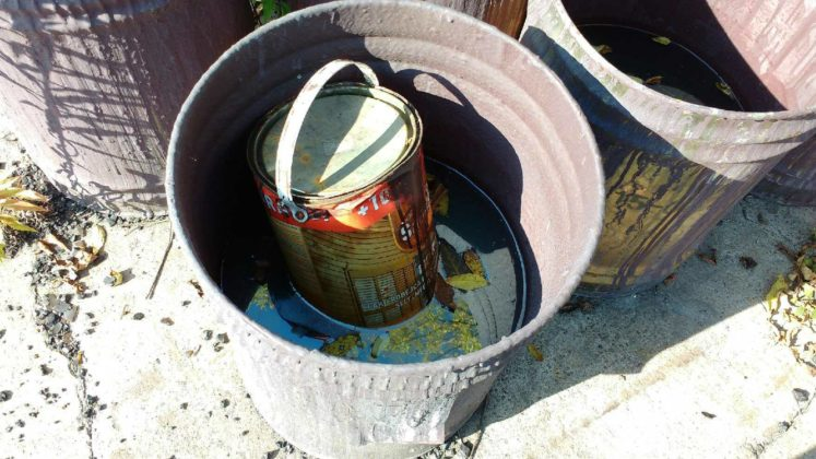 Nielegalne składowisko odpadów w Strzemieszycach - fot. Stowarzyszenie Samorządne Strzemieszyce