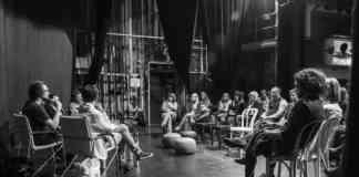 "Debata ""Teatr jest spotkaniem"" - fot. Maciej Stobierski"