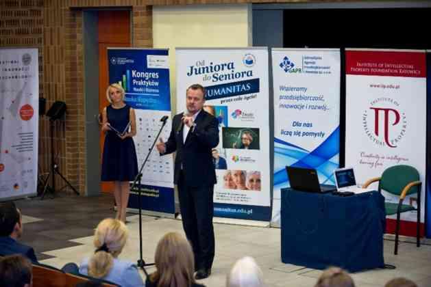 III Kongres Praktyków Nauki i Biznesu w Sosnowcu – fot. Wyższa Szkoła Humanitas