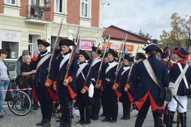 Wielka bitwa na rynku i odsłonięcie pomnika Tadeusza Kościuszki w Czeladzi - fot. MZ