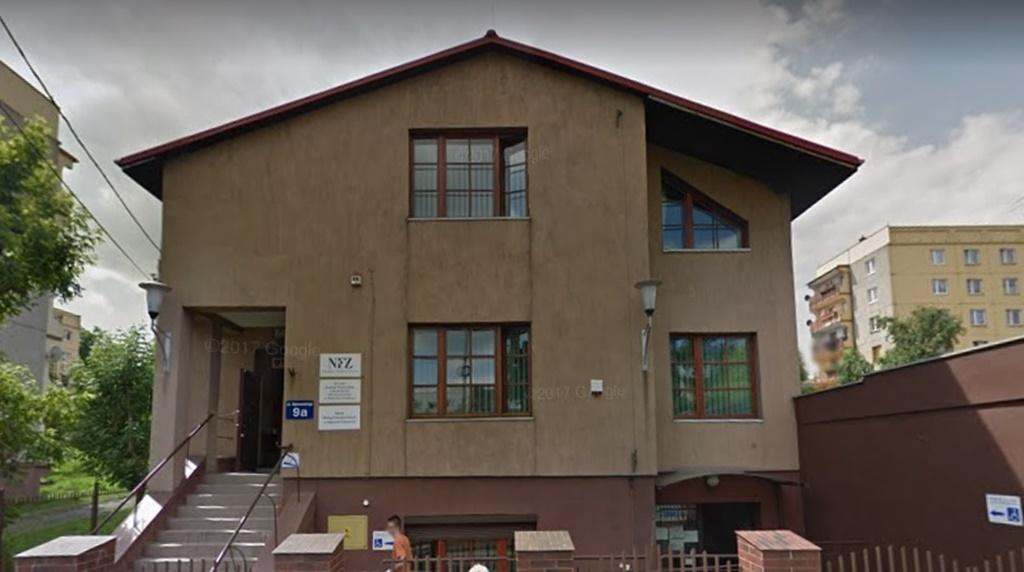 NFZ Dąbrowa Górnicza - fot. Google Maps