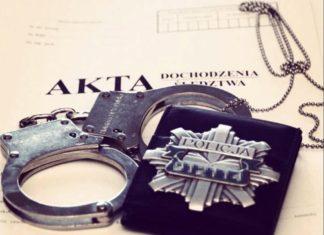 Akta sprawy - fot. Policja