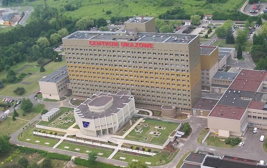 Wojewódzki Szpital Specjalistyczny w Sosnowcu - fot. UM Sosnowiec