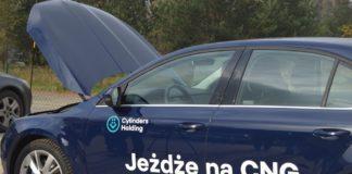 Samochód z napędem na CNG - fot. MZ