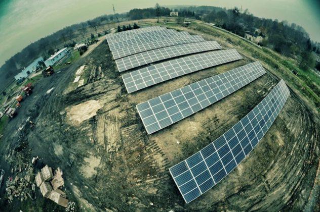 Farma fotowoltaiczna w Wojkowicach - fot. UM Wojkowice