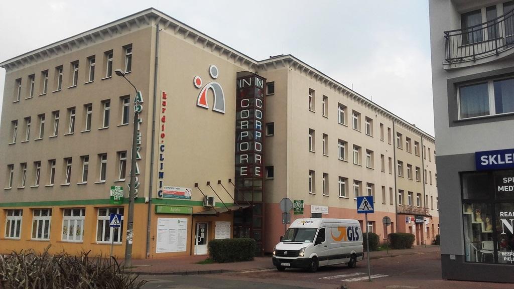 Budynku przy ulicy Skibińskiego 1 w Dąbrowie Górniczej - fot. AR