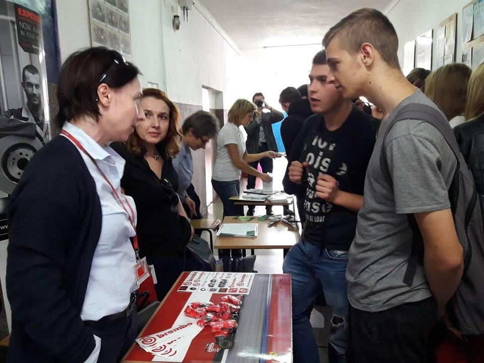 Kiermasz ofert pracy w Dąbrowie Górniczej - fot. mat.pras.