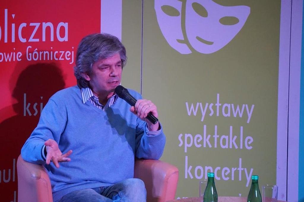 Spotkanie autorskie w Miejskiej Bibliotece Publicznej w Dąbrowie Górniczej - fot. mat. pras.