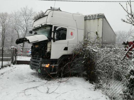 Wypadek w Kromołowie - fot. Zawiercie112