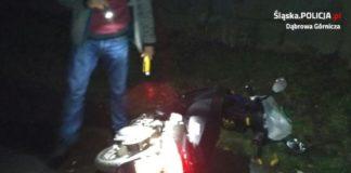 Ucieczka przed policją - fot. KMP w Dąbrowie Górniczej