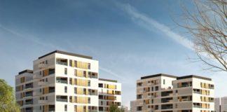 Koncepcja osiedla komunalnego, które powstanie w miejscu byłego ośrodka dla dzieci niewidomych - projekt Architekci APA R. MALINA