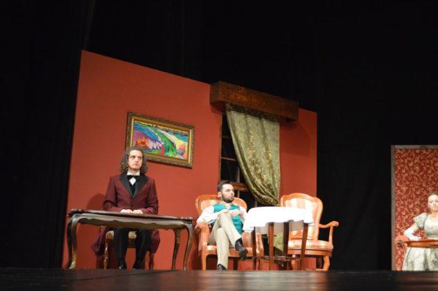 """Zdjęcia z próby """"Wojny światów"""" w Teatrze Zagłębia – fot. MZ"""