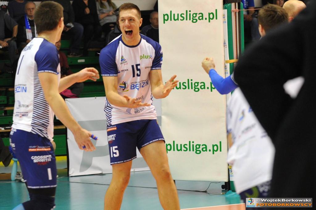 Matej Kok odchodzi z MKS-u Będzin – fot. Wojtek Borkowski/FOTOBORKOWSCY