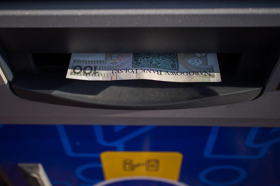 Bankomat - fot. Pixabay