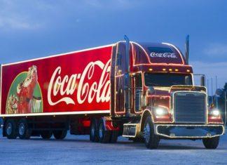 Świąteczna ciężarówka Coca-Cola - fot. mat. pras.
