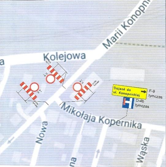 Utrudnienia w centrum - fot. UM Dąbrowa Górnicza