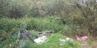 Dzikie wysypisko w Jaworznie - fot. MPO Jaworzno