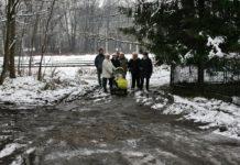 Mieszkańcy ulicy Dreszera - fot. archiwum prywatne