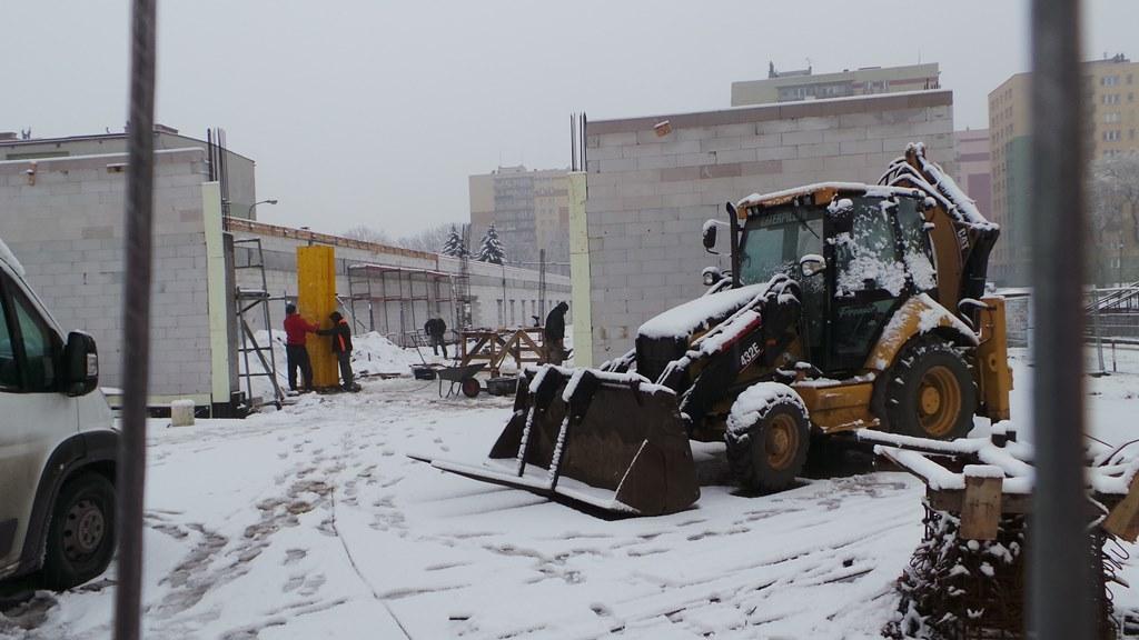 Budowa targowiska w Czeladzi - fot. MŁ