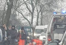 Wypadek na Naftowej w Sosnowcu - fot. Piotr Stelmach/Facebook